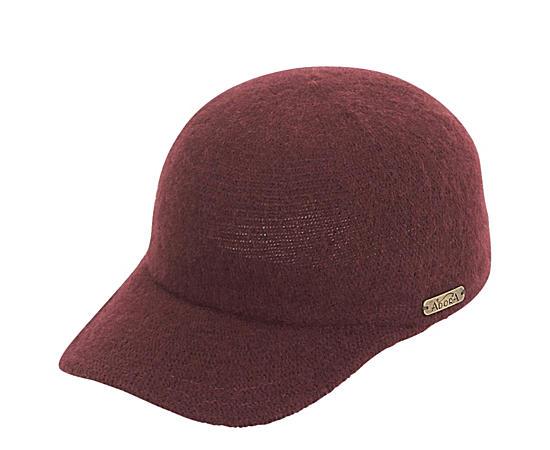 Womens Wool Baseball Cap