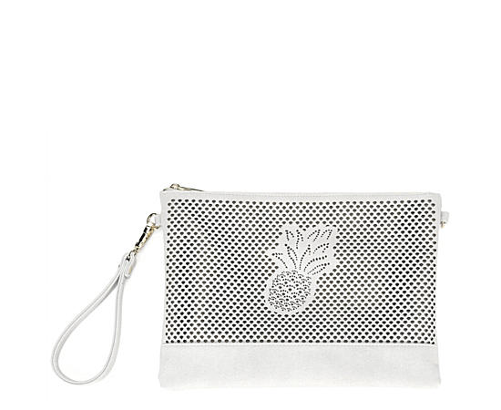 Womens Pinapple Perf Wallet