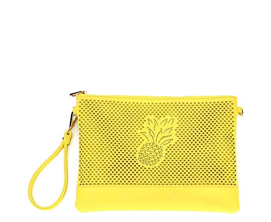 Womens Pinapple Perf Wallet