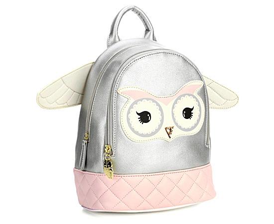 Womens Owl Mini Backpack