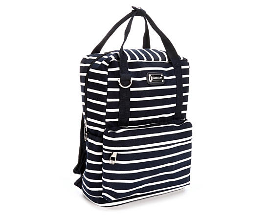 Womens Jersey Stripe Backpack
