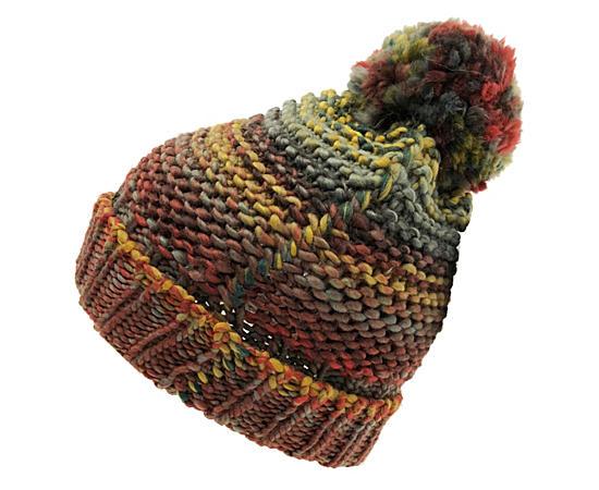 Unisex Space Dye Pom Hat