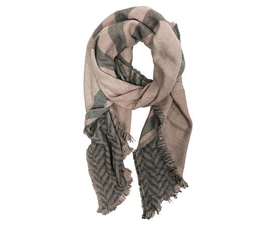 Womens Reversible Blanket Scarf