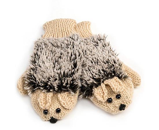 Unisex Hedgehog Mitten