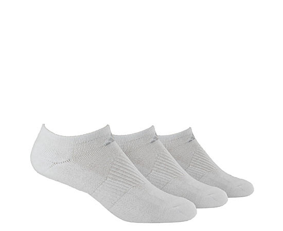 Womens 3 Pack Variegated No Show