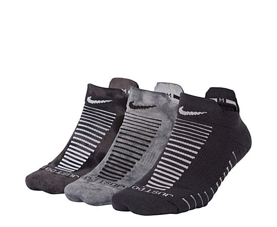 Womens 3pk Blk Ankle
