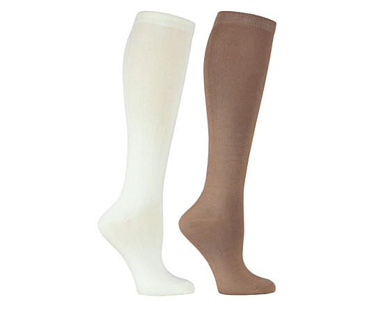 Womens 2 Pack Knit Knee High