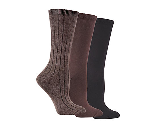 Womens 3 Pack Soft  Dreamy Boot Sock