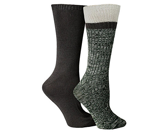 Womens 2 Pack Boot Sock