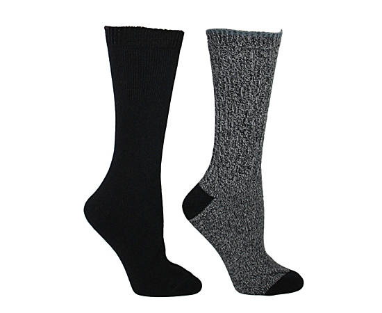 Womens Two Pack Boot Sock