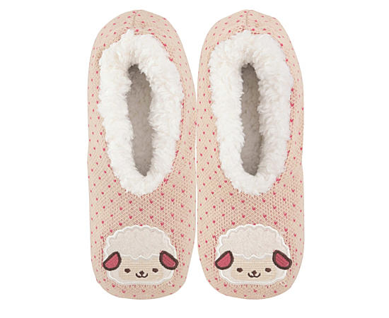 Womens Lamb Slipper Size S-m