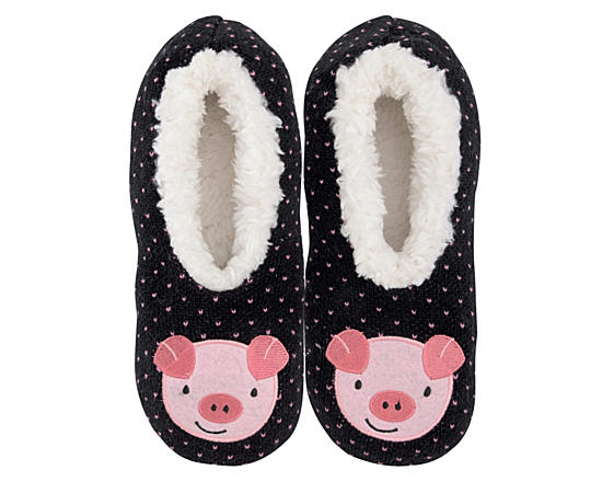Womens Pig  Slipper-size Small