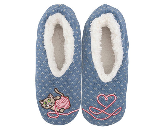 Womens Kitten Slipper - Size Sm
