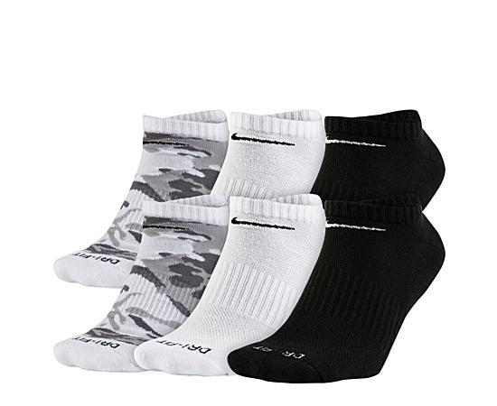 Mens 6 Pack Mens Drifit No Show Socks