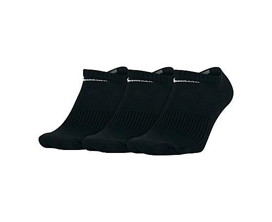 Mens 3 Pack No Show Socks