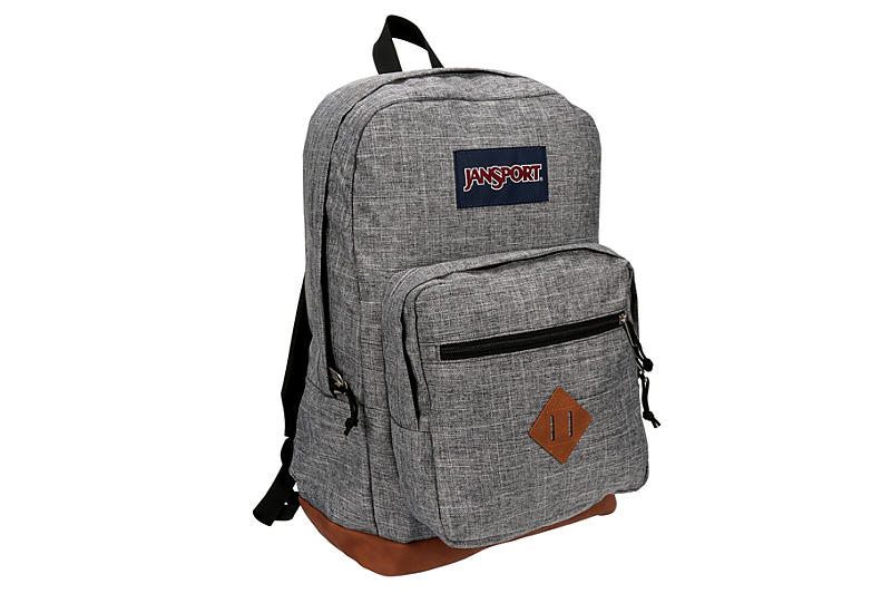 GREY JANSPORT Womens Jansport City View Backpack
