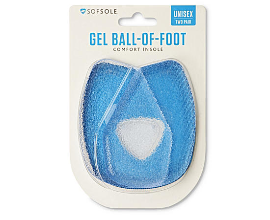 Mens Gell Ball Of Foot Insole