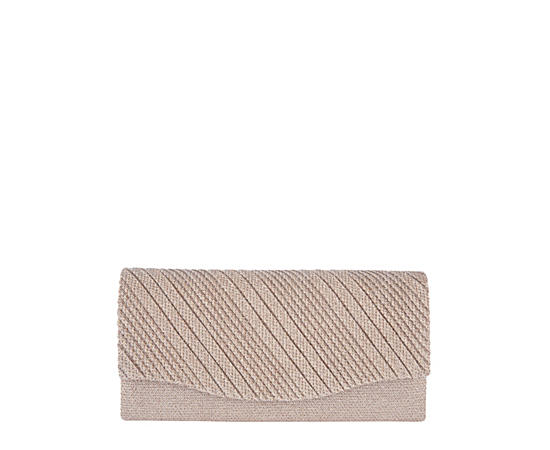 Womens Champagne Clutch