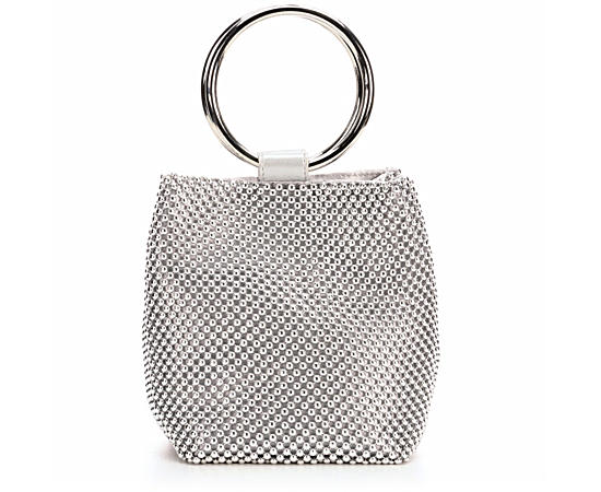 Womens Gwen Ball Mesh Ring Bag