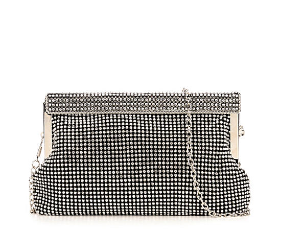 Womens Fully Crystallized Clutch