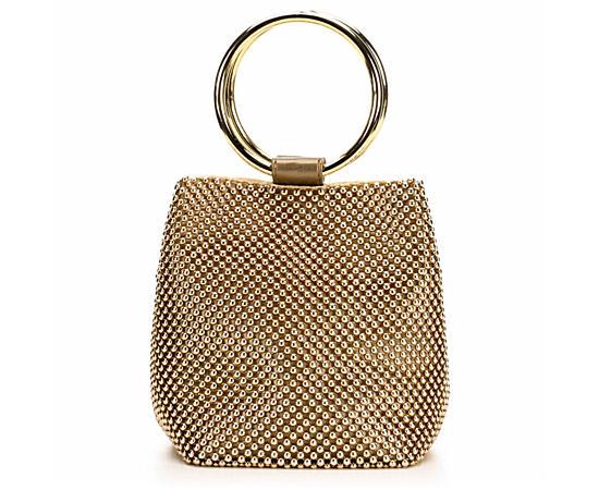 Womens Ball Mesh Ring Bag