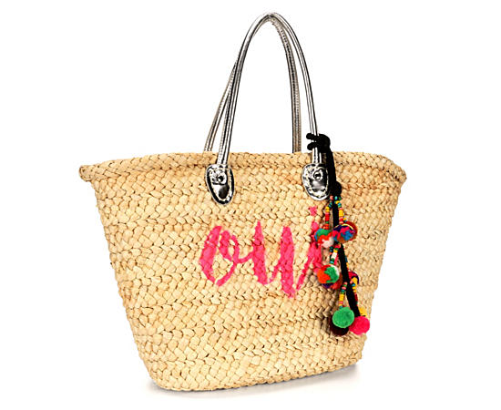 Womens Oui Straw Tote
