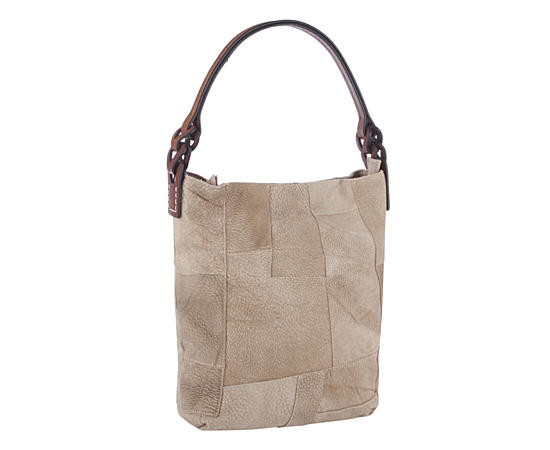 Womens Patchwork Hobo