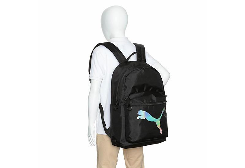 PUMA Unisex Puma Essential Backpack - BLACK