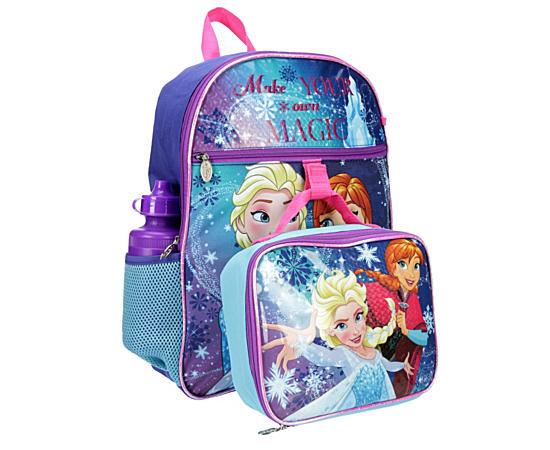 Girls Frozen Backpack
