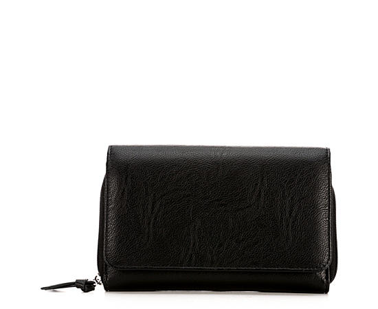 Womens Flap Crossbody With Battery