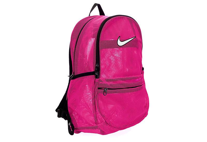 07e99a03060c Nike Womens Brasilia Mesh Backpack - Pink