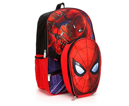 Boys 16 W Lunch Spiderman