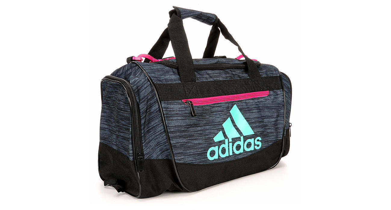 5612c6c50c3 Grey Adidas Womens Defender Iii Small Duffel   Accessories   Off ...