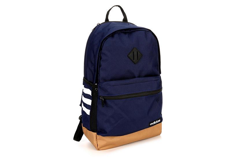 2076bdde9d Adidas Unisex Classic 3s Ii Backpack - Dark Blue