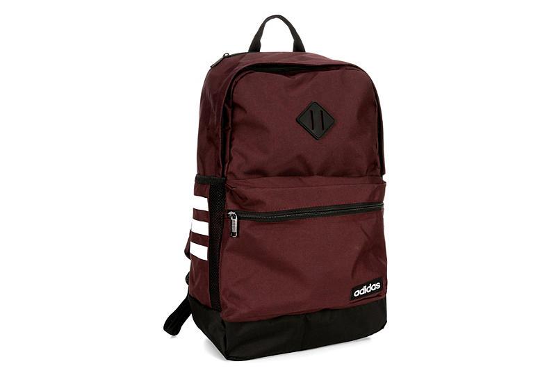 79b83692ba70 Adidas Unisex Classic 3s Ii Backpack - Burgundy