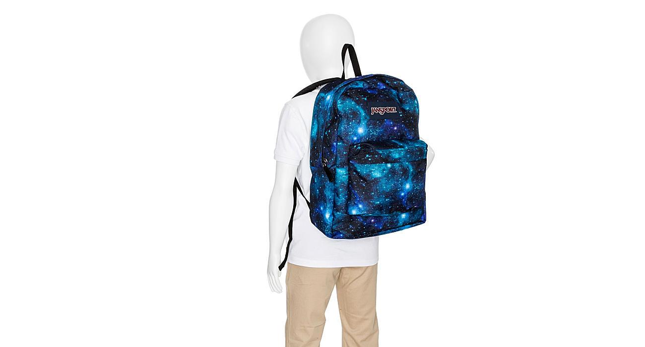 JANSPORT Womens Superbreak Backpack - NAVY