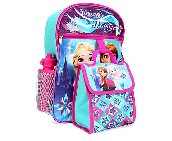 Unisex Frozen Backpack 5 Piece Set