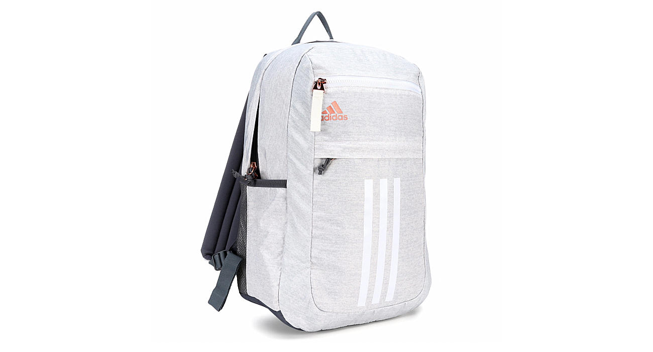 Adidas Unisex League 3 Stripe Backpack Rose Gold