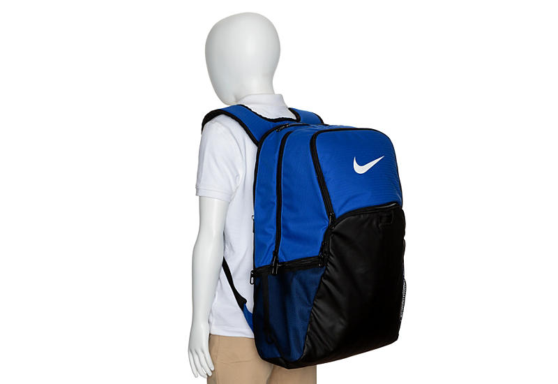 NIKE Unisex Brasillia Xl Backpack - BLUE