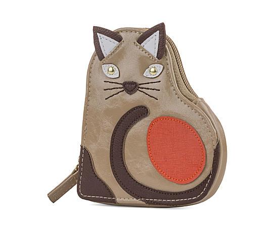 Womens Standing Cat Pocket Pet