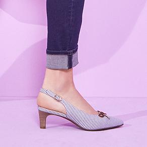 Обувки с отворена пета