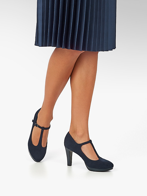 Dans Escarpin Prix Acheter Avantageux La Bleu En Graceland Boutique À Femmes De Navy Ligne mO8nwN0vyP