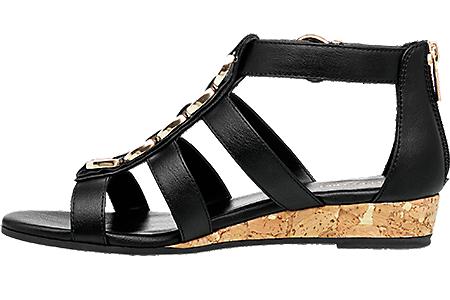 Graceland Boutique Femmes À Dans La Sandalette Acheter Avantageux Prix De Ligne Noir En CoedrBx