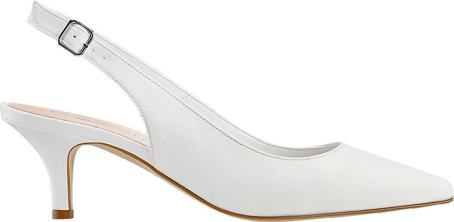 Prix À Boutique Acheter Femmes En De Ligne 5th Dans Escarpin Blanc La Avenue Sling Avantageux kOPTwiuXZ
