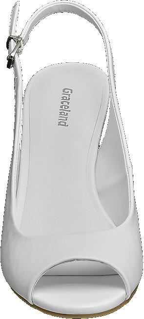 Prix Acheter Ligne De À Blanc La Sling Boutique Graceland Sandalette Dans Avantageux Femmes En edBoCx