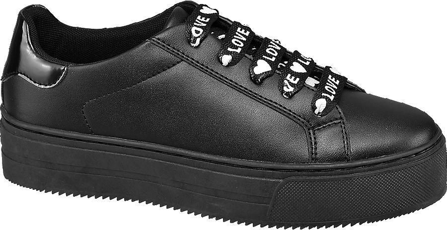 Femmes Prix De À Sneaker Ligne Noir Acheter Dans En La Graceland Avantageux Boutique nwPkNO80X