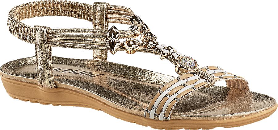 Gold Damen Kaufen Artikelnummernbsp;1210284 Graceland Im Von Günstig Sandale Online shop In 7Ybgyf6
