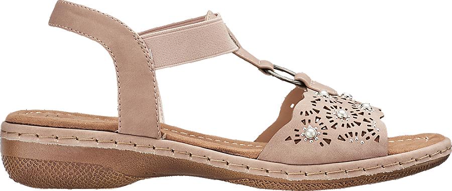 Damen Günstig Easy shop Sandale Artikelnummernbsp;1200557 Kaufen In Online Nude Von Street Im KlFT1Jc