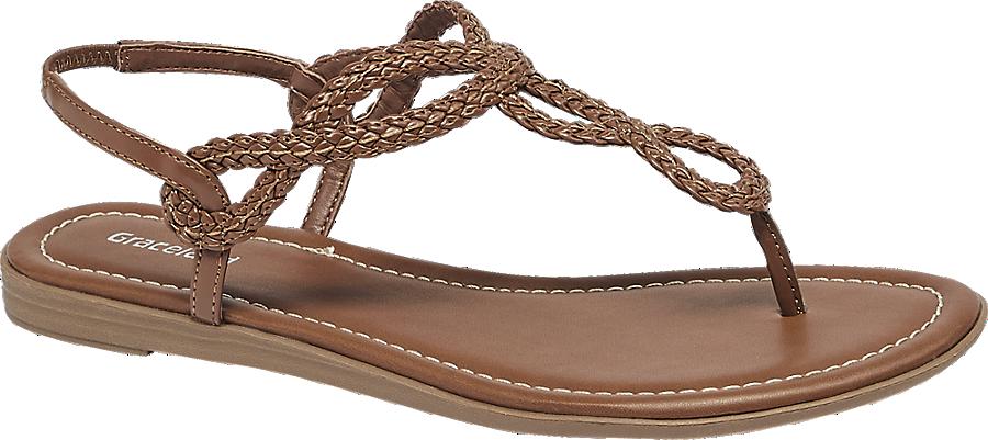 Braun Günstig Kaufen shop Sandale In Graceland Von Online Damen Artikelnummernbsp;1210268 Im 6yb7Yfg