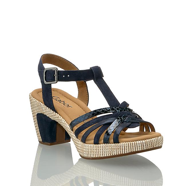 Günstig shop Im Kaufen Hohe St tropez In Gabor Online G Sandalette Damen Ozeanblau Von 5j3S4RAcLq